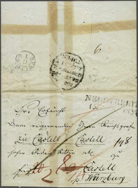 Lot 2336A - germany Bayern -  Corinphila Auction AG Day 4- Europe & Overseas, Zeppelin-Mail, Die Sammlung Erivan (Part I), Schweiz & Liechtenstein