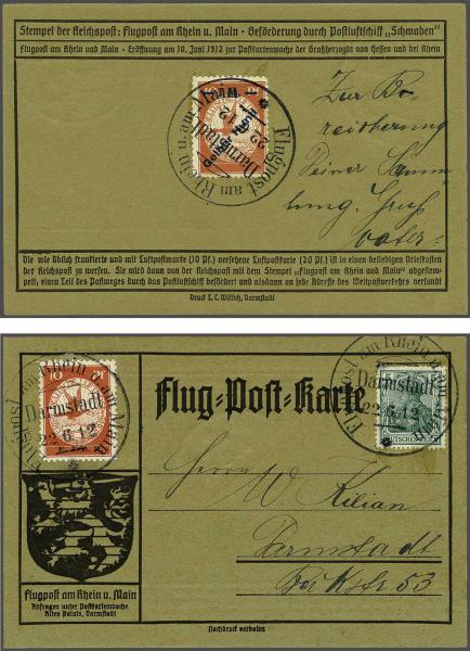 Lot 2508 - germany dt. reich -  Corinphila Auction AG Day 4- Europe & Overseas, Zeppelin-Mail, Die Sammlung Erivan (Part I), Schweiz & Liechtenstein