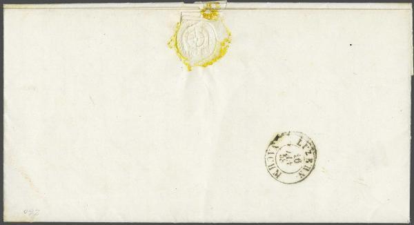 Lot 8440 - Switzerland Sitting Helvetia imperf. 'Strubel' -  Corinphila Auction AG Auction 250 - 256 Day 6