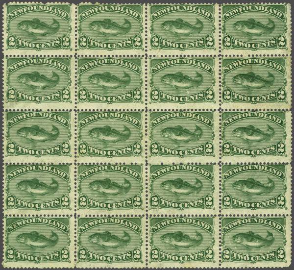 Lot 312 - brit. colonies Newfoundland -  Corinphila Auction AG Auction 250 - 256 Day 3