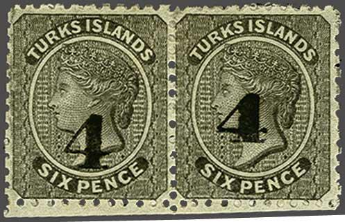 Lot 4526 - brit. colonies turks and caicos islands -  Corinphila Auction AG Auction 250 - 256 Day 2