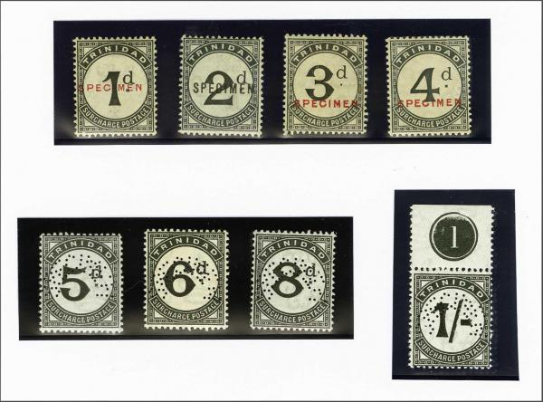 Lot 4462 - brit. colonies trinidad u. tobago -  Corinphila Auction AG Auction 250 - 256 Day 2