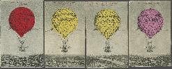 Ballon-zielfahrt Des Berliner Vereins Für Luftschiffahrt Bei Minus 16° 1912 Bilder & Fotos