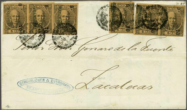 Lot 3612 - Overseas Mexico -  Corinphila Auction AG Auction Series 257-264 in Zurich Day 1