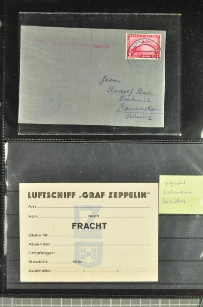Lot 628 - germany zeppelin mail -  Corinphila Auction AG Auction Series 257-264 in Zurich Day 3