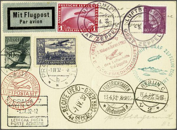Lot 527 - zeppelin Zeppelin & Airmail -  Corinphila Auction AG Auction Series 257-264 in Zurich Day 3