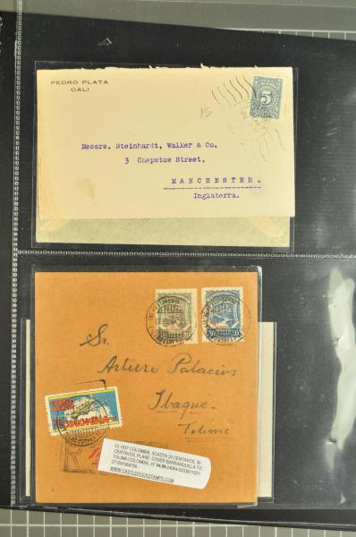 Lot 22 - Overseas Colombia -  Corinphila Auction AG Auction Series 257-264 in Zurich Day 2