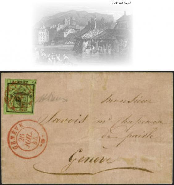Lot 7012 - Switzerland geneva -  Corinphila Auction AG Auction Series 257-264 in Zurich Day 6