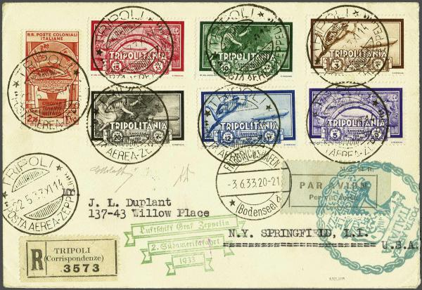 Lot 472 - zeppelin Zeppelin & Airmail -  Corinphila Auction AG Auction Series 257-264 in Zurich Day 3