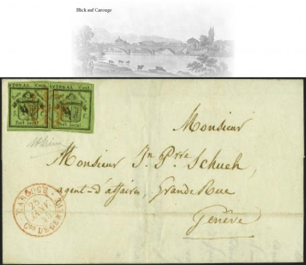 Lot 7014 - Switzerland geneva -  Corinphila Auction AG Auction Series 257-264 in Zurich Day 6