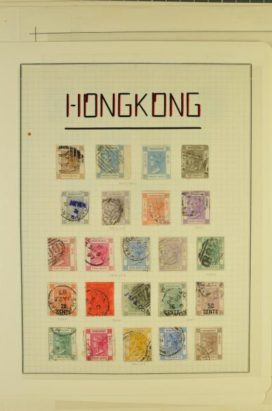 Lot 1573 - brit. colonies hongkong -  Corinphila Auction AG Auction Series 257-264 in Zurich Day 1