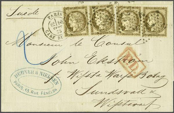 Lot 5259 - europe France -  Corinphila Auction AG Auction Series 257-264 in Zurich Day 2