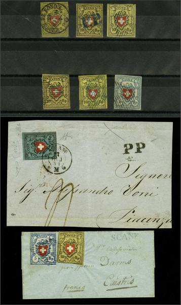 Lot 9666 - Switzerland rayon -  Corinphila Auction AG Auction Series 257-264 in Zurich Day 5