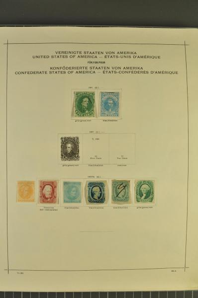Lot 7 - Overseas usa -  Corinphila Auction AG Auction Series 257-264 in Zurich Day 2