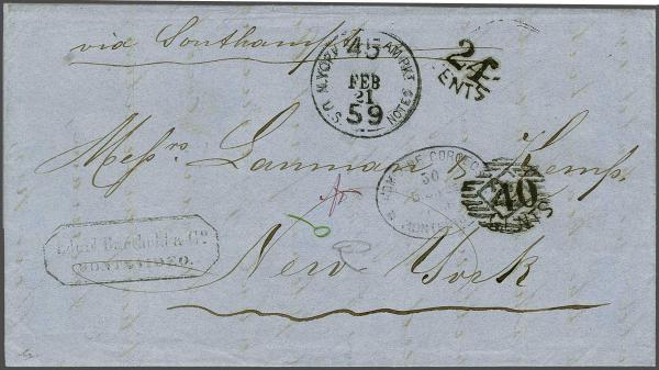 Lot 4 - Overseas usa -  Corinphila Auction AG Auction Series 257-264 in Zurich Day 2