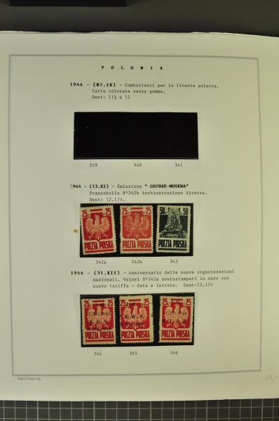 Lot 1233 - europe Poland -  Corinphila Auction AG Auction Series 257-264 in Zurich Day 4