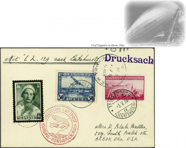 Lot 436 - zeppelin Zeppelin & Airmail -  Corinphila Auction AG Auction Series 257-264 in Zurich Day 3