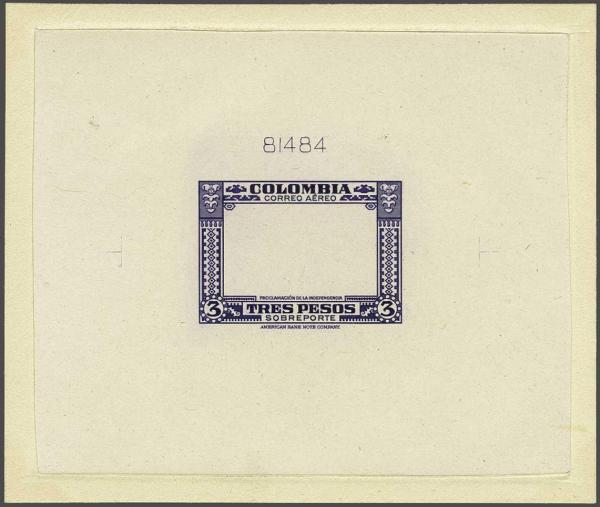 Lot 23 - Overseas Colombia -  Corinphila Auction AG Auction Series 257-264 in Zurich Day 2
