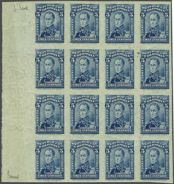 Lot 19 - Overseas Colombia -  Corinphila Auction AG Auction Series 257-264 in Zurich Day 2