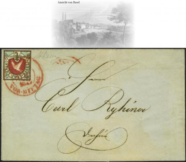 Lot 7023 - Switzerland basle -  Corinphila Auction AG Auction Series 257-264 in Zurich Day 6