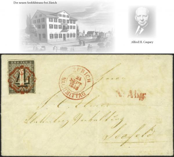 Lot 7006 - Switzerland zürich -  Corinphila Auction AG Auction Series 257-264 in Zurich Day 6