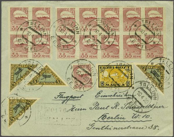Lot 652 - europe estonia -  Corinphila Auction AG Auction Series 257-264 in Zurich Day 3