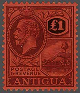 Lot 5402 - brit. colonies Antigua u. Antigua Barbuda -  Corinphila Auction AG Auction Series 257-264 in Zurich Day 2