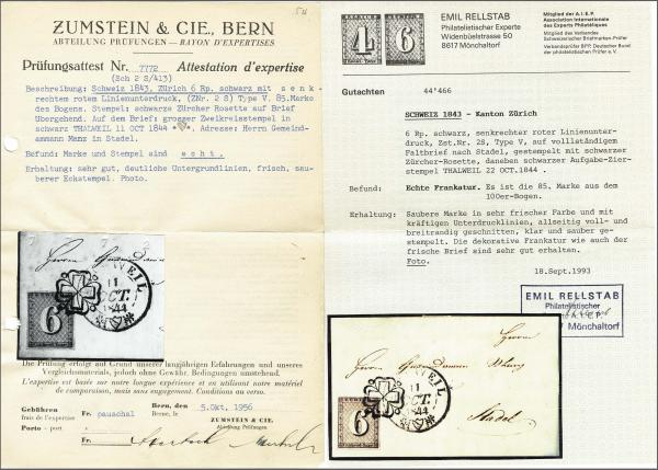 Lot 8004 - schweiz zürich -  Corinphila Auction AG Auction 265th - 273rd - Day 6