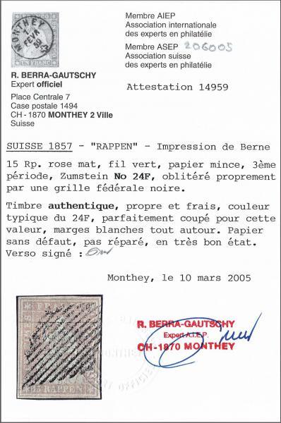 Lot 8547 - schweiz Sitz. Helvetia ungez. 'Strubel' -  Corinphila Auction AG Auction 265th - 273rd - Day 6