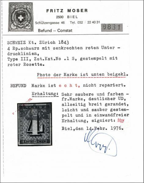 Lot 8001 - schweiz zürich -  Corinphila Auction AG Auction 265th - 273rd - Day 6