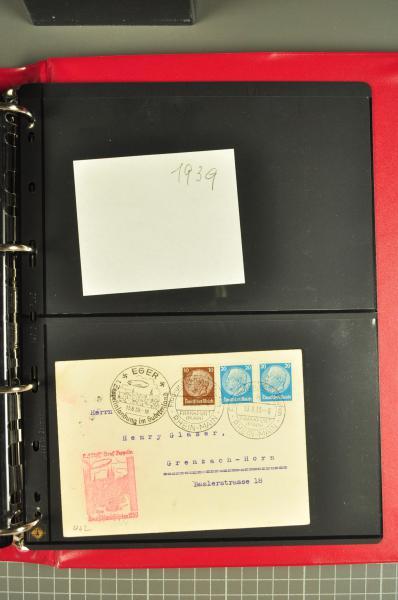 Lot 1045 - deutschland zeppelinpost -  Corinphila Auction AG Auction 265th - 273rd - Day 5