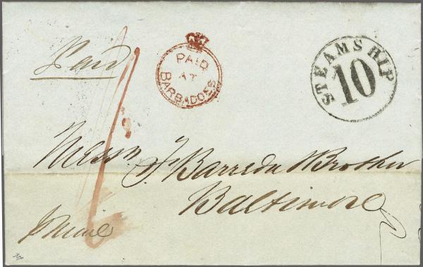 Lot 4029 - britische kolonien barbados -  Corinphila Auction AG Auction 265th - 273rd - Day 3