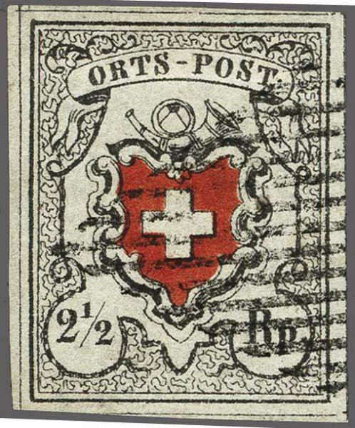 Lot 8012 - schweiz Bundesmarken -  Corinphila Auction AG Auction 265th - 273rd - Day 6