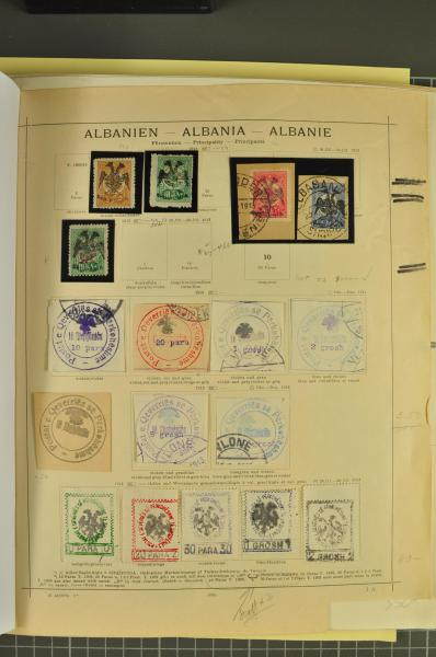 Lot 828 - europa albanien -  Corinphila Auction AG Auction 265th - 273rd - Day 5