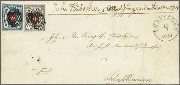 Lot 8022 - schweiz Bundesmarken -  Corinphila Auction AG Auction 265th - 273rd - Day 6
