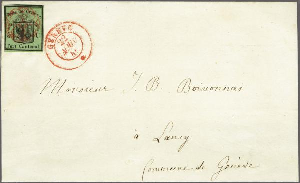 Lot 8007 - schweiz genf -  Corinphila Auction AG Auction 265th - 273rd - Day 6