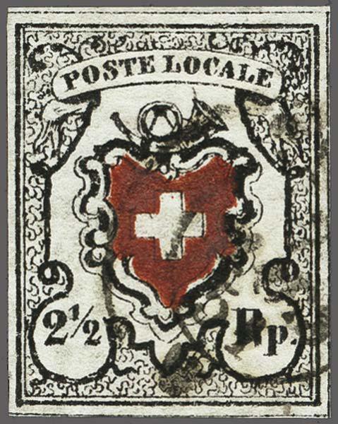 Lot 8018 - schweiz Bundesmarken -  Corinphila Auction AG Auction 265th - 273rd - Day 6