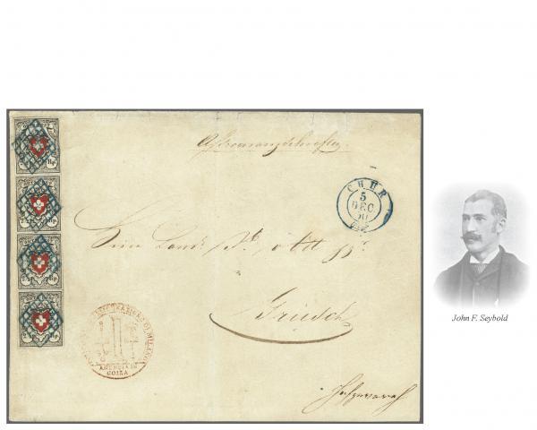 Lot 8017 - schweiz Bundesmarken -  Corinphila Auction AG Auction 265th - 273rd - Day 6