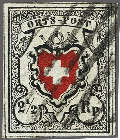 Lot 8015 - schweiz Bundesmarken -  Corinphila Auction AG Auction 265th - 273rd - Day 6
