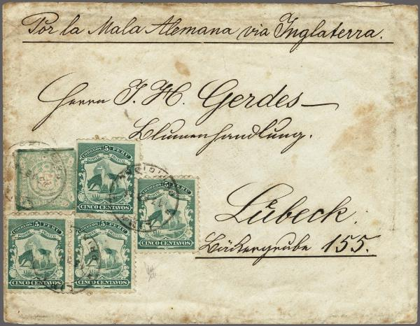 Lot 5634 - übersee Peru -  Corinphila Auction AG Auction 265th - 273rd - Day 1