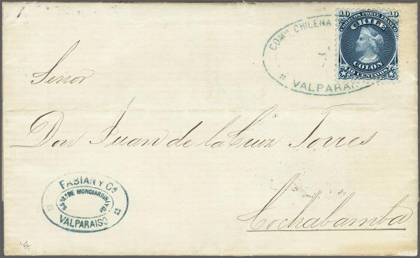Lot 73 - übersee Chile -  Corinphila Auction AG Auction 265th - 273rd - Day 1