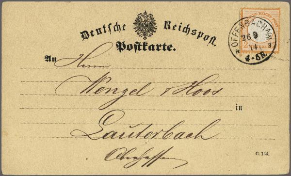 Lot 997 - deutschland dt. reich -  Corinphila Auction AG Auction 265th - 273rd - Day 5