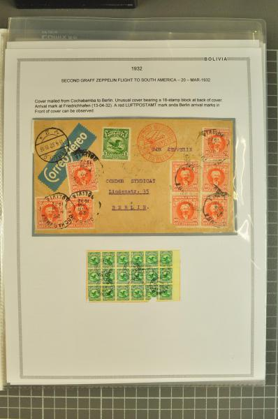 Lot 54 - übersee bolivien -  Corinphila Auction AG Auction 265th - 273rd - Day 1