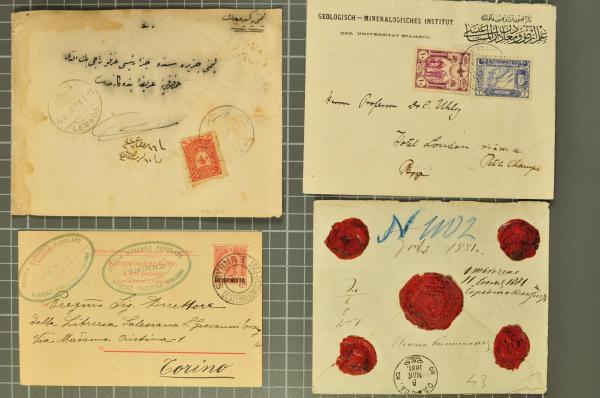 Lot 1614 - europa türkei -  Corinphila Auction AG Auction 265th - 273rd - Day 5