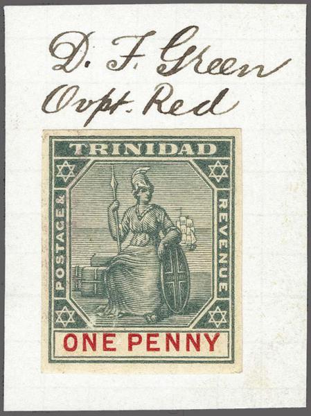 Lot 2973 - britische kolonien trinidad u. tobago -  Corinphila Auction AG Auction 265th - 273rd - Day 2