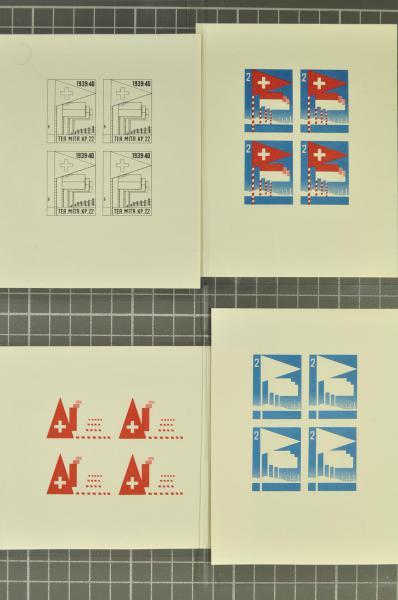 Lot 8908 - schweiz soldatenmarken -  Corinphila Auction AG Auction 265th - 273rd - Day 5