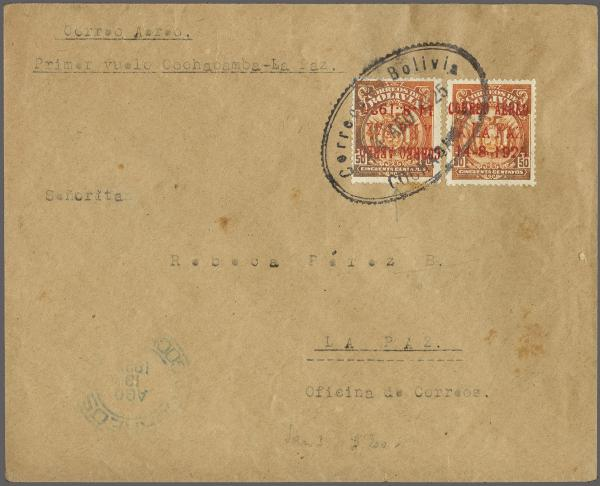 Lot 34 - übersee bolivien -  Corinphila Auction AG Auction 265th - 273rd - Day 1