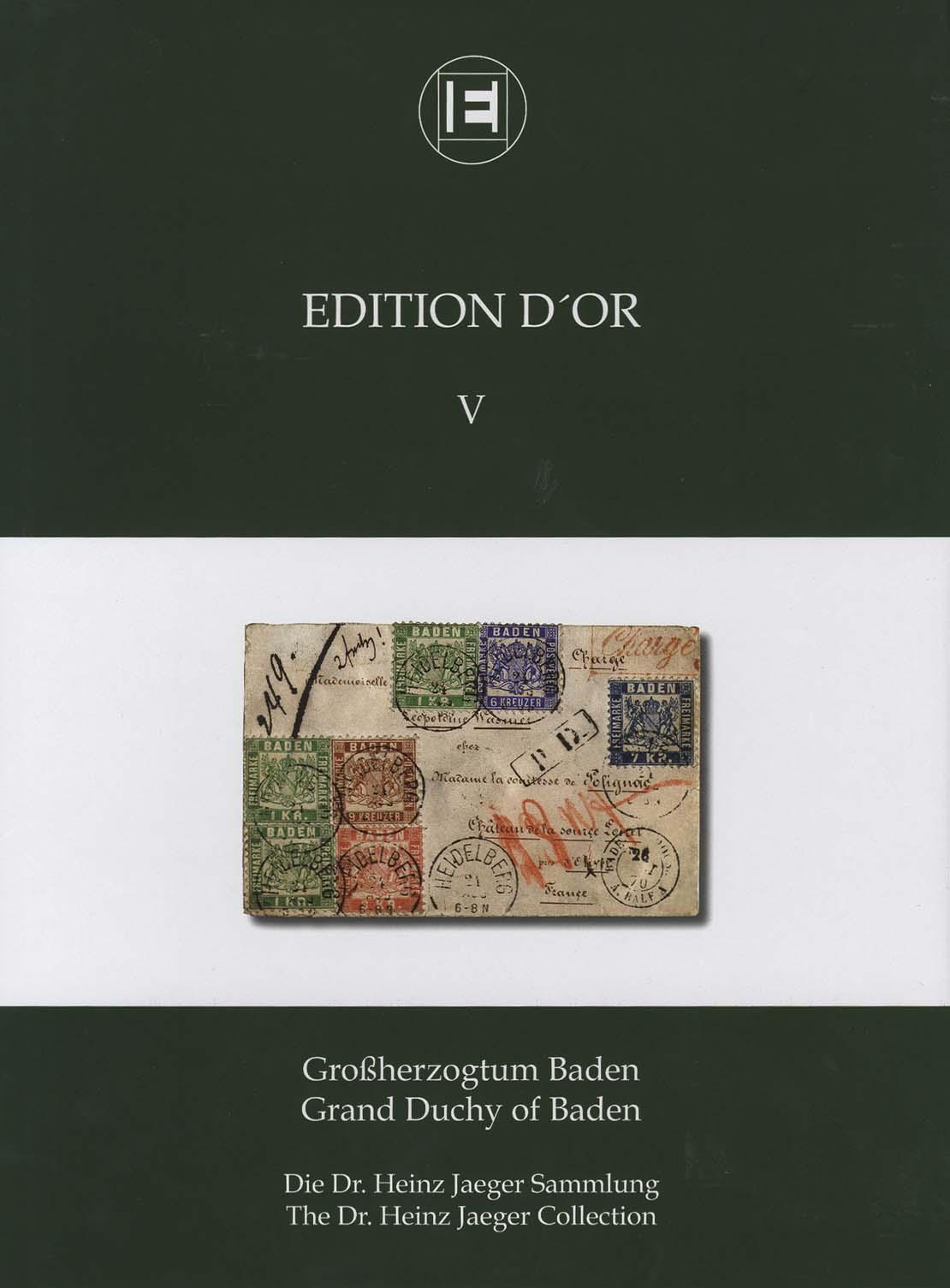 Vol. 5: Grand Duchy of Baden • The Dr. Heinz Jaeger Collection