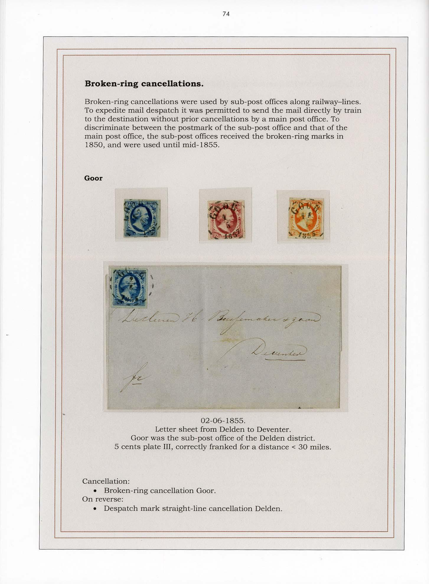 Vol. 29: Netherlands 1852 - The Bouwe Brandsma Collection