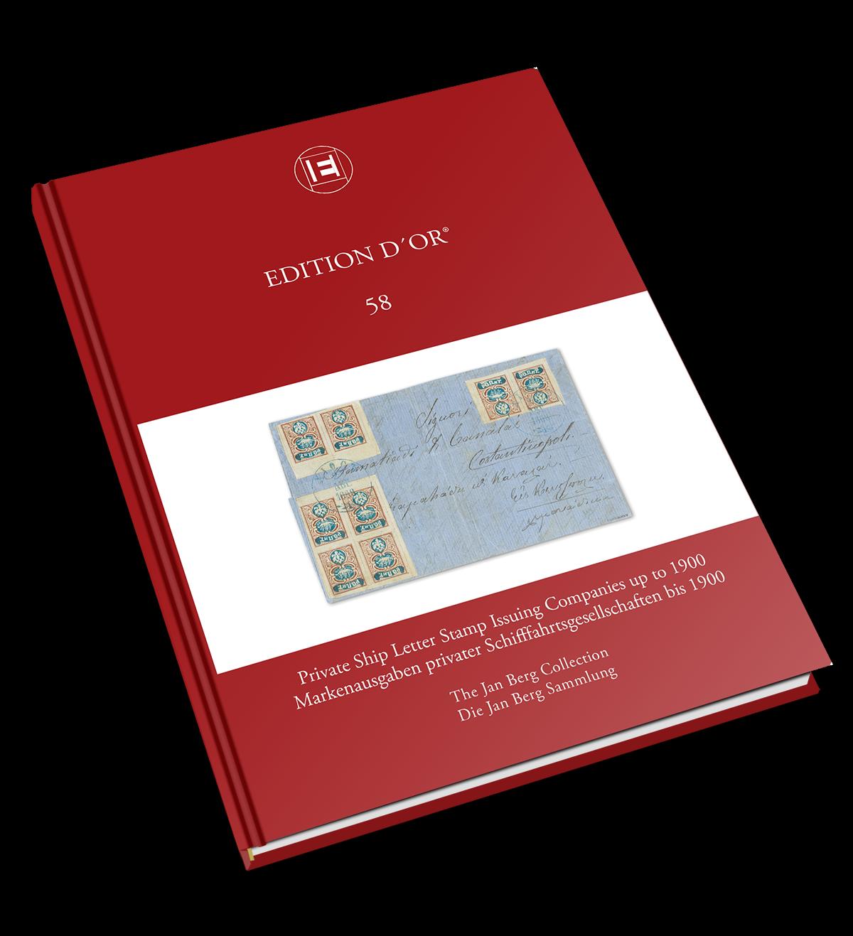 Band 58: Markenausgaben privater Schifffahrtsgesellschaften bis 1900 - Die Jan Berg Sammlung